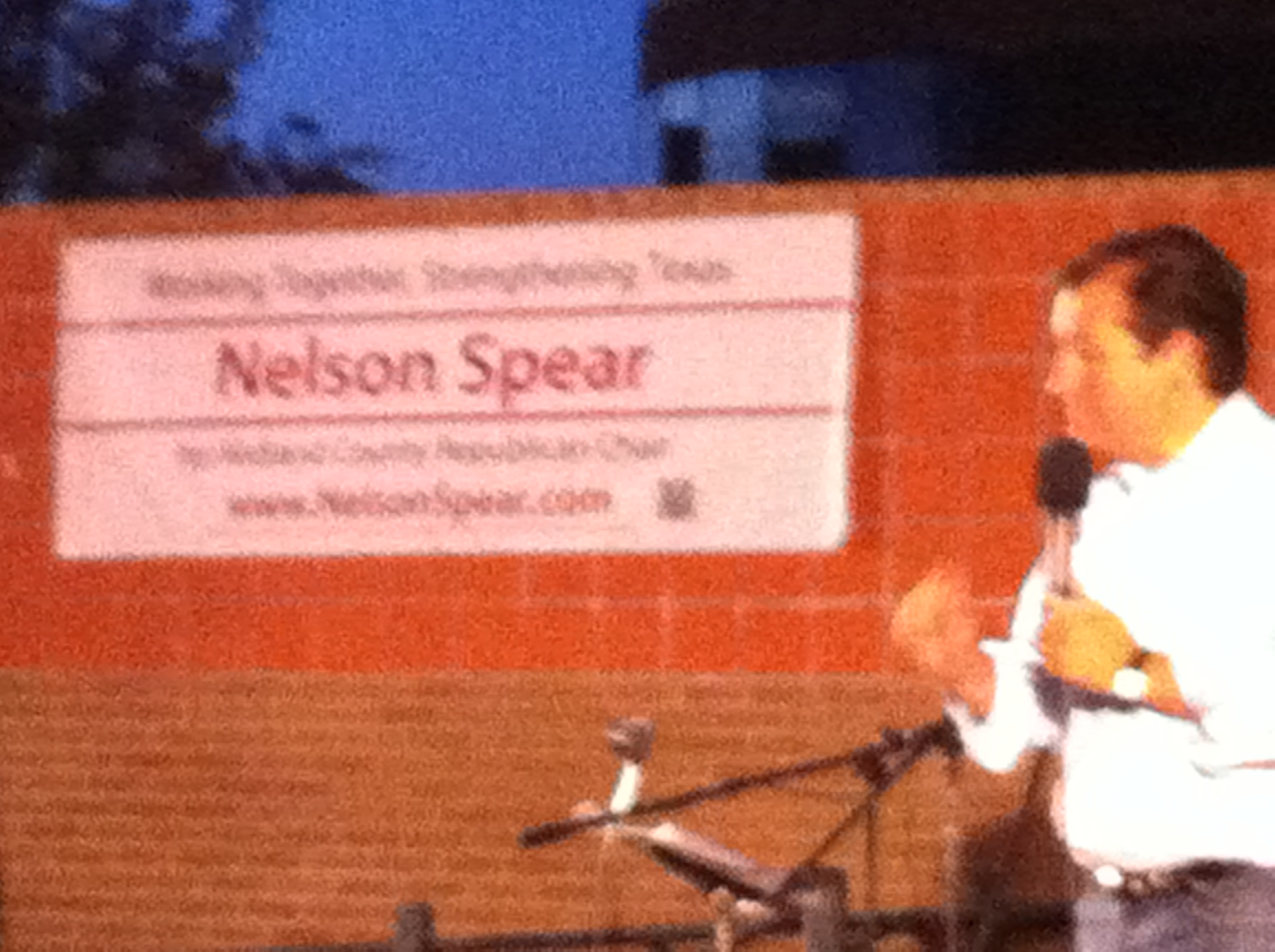 Senator ted Cruz in Midland - Nelson Spear